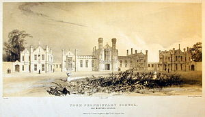 St Peter's School, York - Image: St Peter's School York by T Boys YORAG R2386