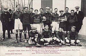 Stade Toulousain - The 1912 French champion.