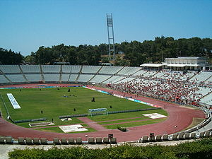 Oeiras International Cross Country - The Oeiras course is run near the Estádio Nacional
