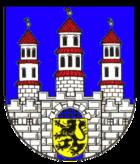 Das Wappen von Freiberg