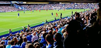 View from the Lower East Stand, August 2014 Stamford bridge2014.jpg