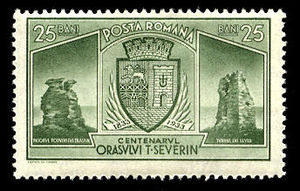Drobeta-Turnu Severin - 1933 stamp