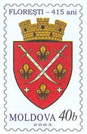 Florești, Moldova - Image: Stamp of Moldova md 030st