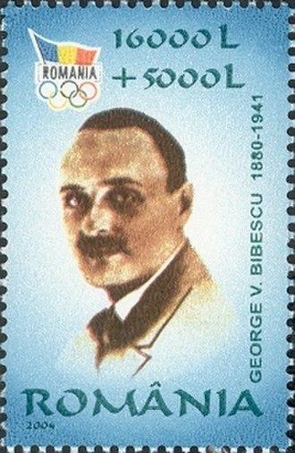 George Valentin Bibescu - Bibescu on a 2004 Romanian stamp