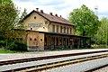 Stará budova železničního nádraží Praha-Řeporyje, Řeporyje, Praha 13, Hlavní město Praha.jpg