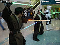 Star Wars Celebration IV - Jedi lightsaber battle fan costumes (4878898184).jpg