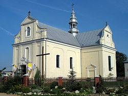 Catholic church in Stary Dzików