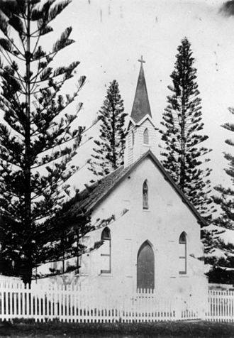 St Paul's Anglican Church, Cleveland - St. Paul's Church of England, Cleveland, ca. 1905