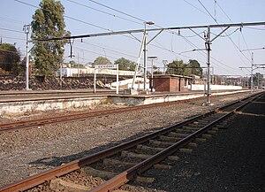Estcourt - Estcourt railway station