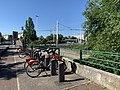 Station Vélo'v 10014 (Laurent Bonnevay - Cusset) à Villeurbanne (mai 2020).jpg