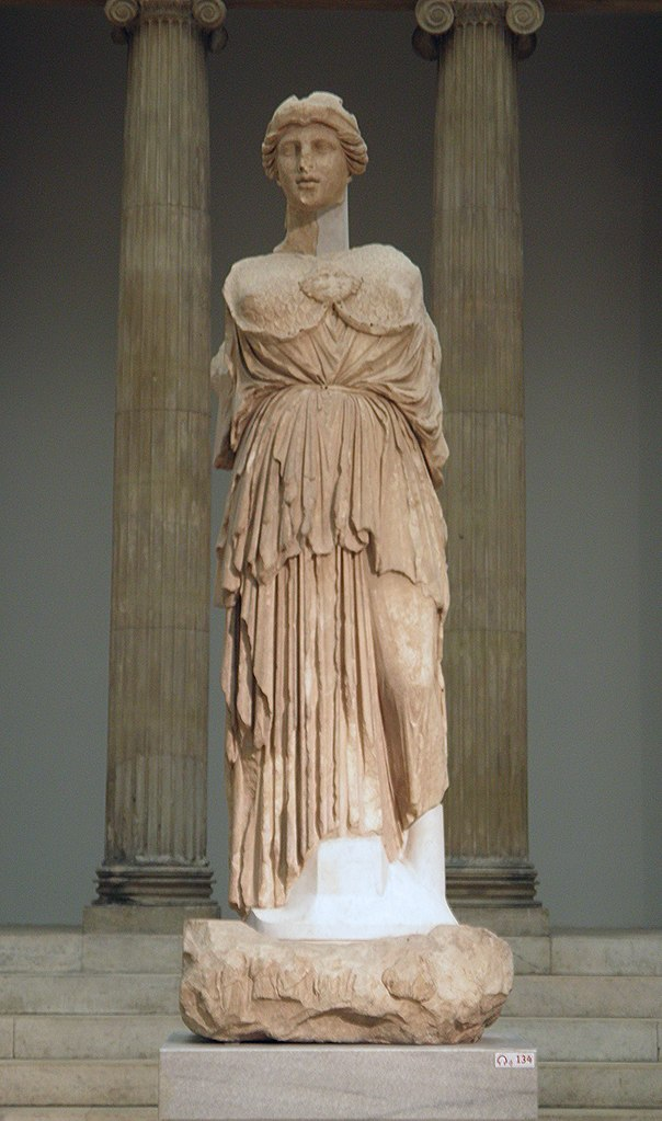 File Statue Of Athena Parthenos From The Library Of