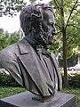 Statue of Karl Sarasin-Sauvain, Basel (Swiss) Park St-AlbanTor, 2014.JPG