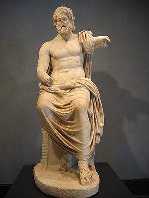 Statue of Zeus, Getty Museum, Malibu California