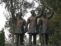 Statues of Bhagat Singh, Rajguru and Sukhdev.jpg
