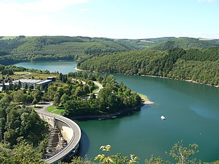 reservoir in Luxembourg