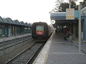Highway 38 (Israel) - Beit Shemesh Railway Station