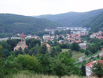 Štěchovice - Image: Stechovice