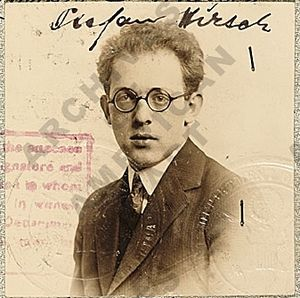 Stefan Hirsch - Image: Stefan Hirsch (passport photo)