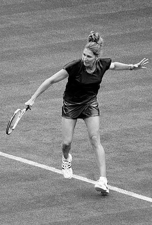 Steffi Graf - Steffi Graf backhand
