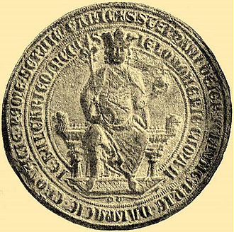 Stephen V of Hungary - Stephen's royal seal