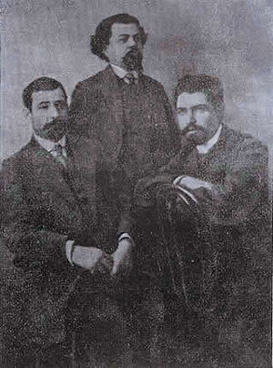 Stepan Shaumian - Shahumian on the right.