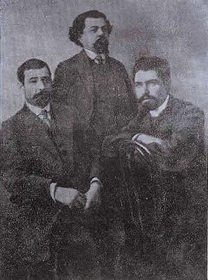 Stepan Shaumian - Shahumian on the right.