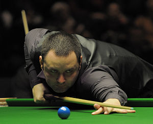 Stephen Maguire - Maguire playing in the 2012 German Masters final against Ronnie O'Sullivan.