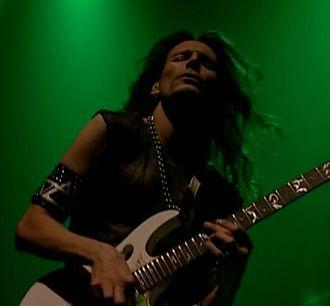 Steve Vai - Vai performing in 2001