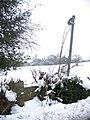 Stile on Ffordd Pentre Bach, Nercwys - geograph.org.uk - 336195.jpg