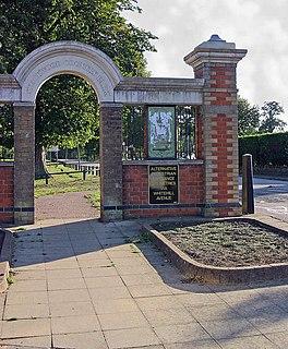 Farley Hill, Luton Human settlement in England