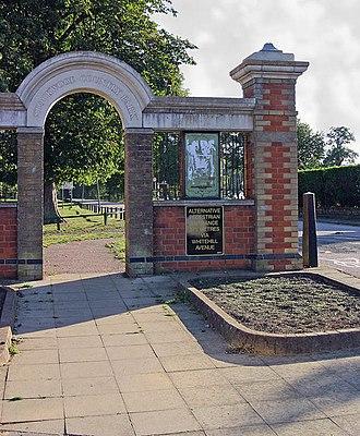 Stockwood Park - Stockwood Park Entrance, Luton