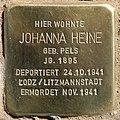 Stolperstein Eichenallee 3 (Westend) Johanna Heine.jpg