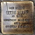 Stolperstein Georg Wolff Hochstraße 20 0108.JPG