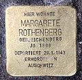 Stolperstein Kantstr 149 (Charl) Margarete Rothenberg.jpg