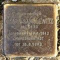 Stolperstein Levetzowstr 16 (Moabi) Georg Samolewitz.jpg