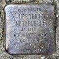Stolperstein Liebenwalder Str 38 (Weddi) Herbert Nothenberg.jpg
