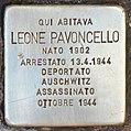 Stolperstein für Leone Pavoncello (Rom).jpg