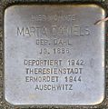Stolpersteine Krefeld, Marta Daniels (Alte Krefelder Straße 39).jpg