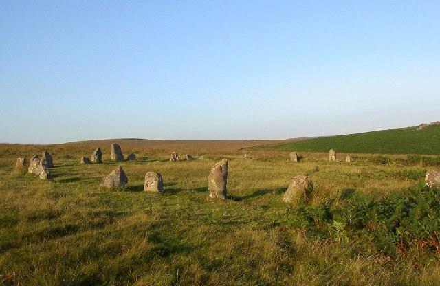 Stone Circle at Brisworthy - geograph.org.uk - 9820