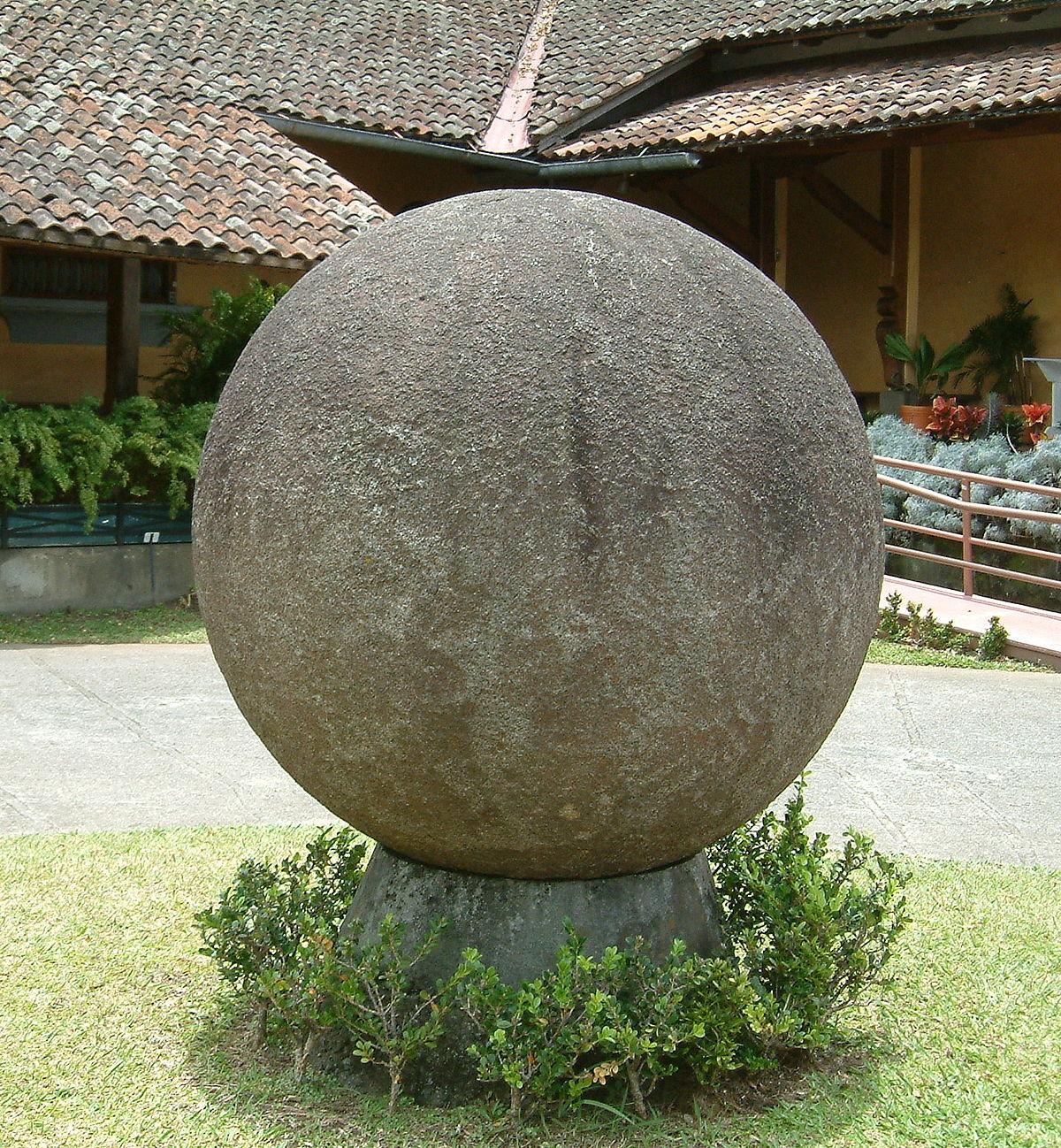Stone spheres of Costa Rica - Wikipedia
