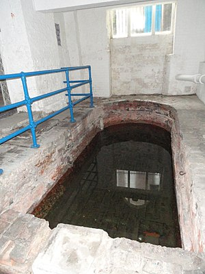 Roman Baths, Strand Lane - Photo of the interior of the bath chamber