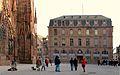 Strasbourg place de la Cathédrale ancienne école du service de santé militaire 1856.JPG