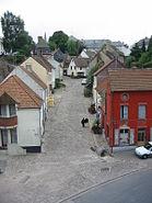 Street in Montreuil-sur-Mer, France