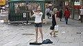 Street performers at Zeil Frankfurt.jpg