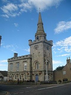 Strichen Town House Municipal building in Scotland