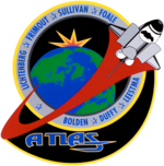 Missionsemblem STS-45