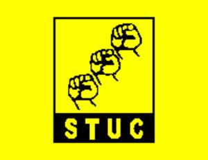 Socialist Trade Union Centre - STUC flag