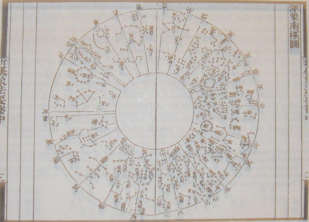 Sky Chart: Su Song Star Map 2.JPG - Wikimedia Commons,Chart