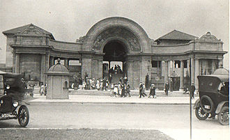 Sunnyside Amusement Park - Bathing Pavilion in 1922