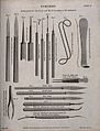 Surgical instruments for the extraction of cataracts. Engrav Wellcome V0016365.jpg
